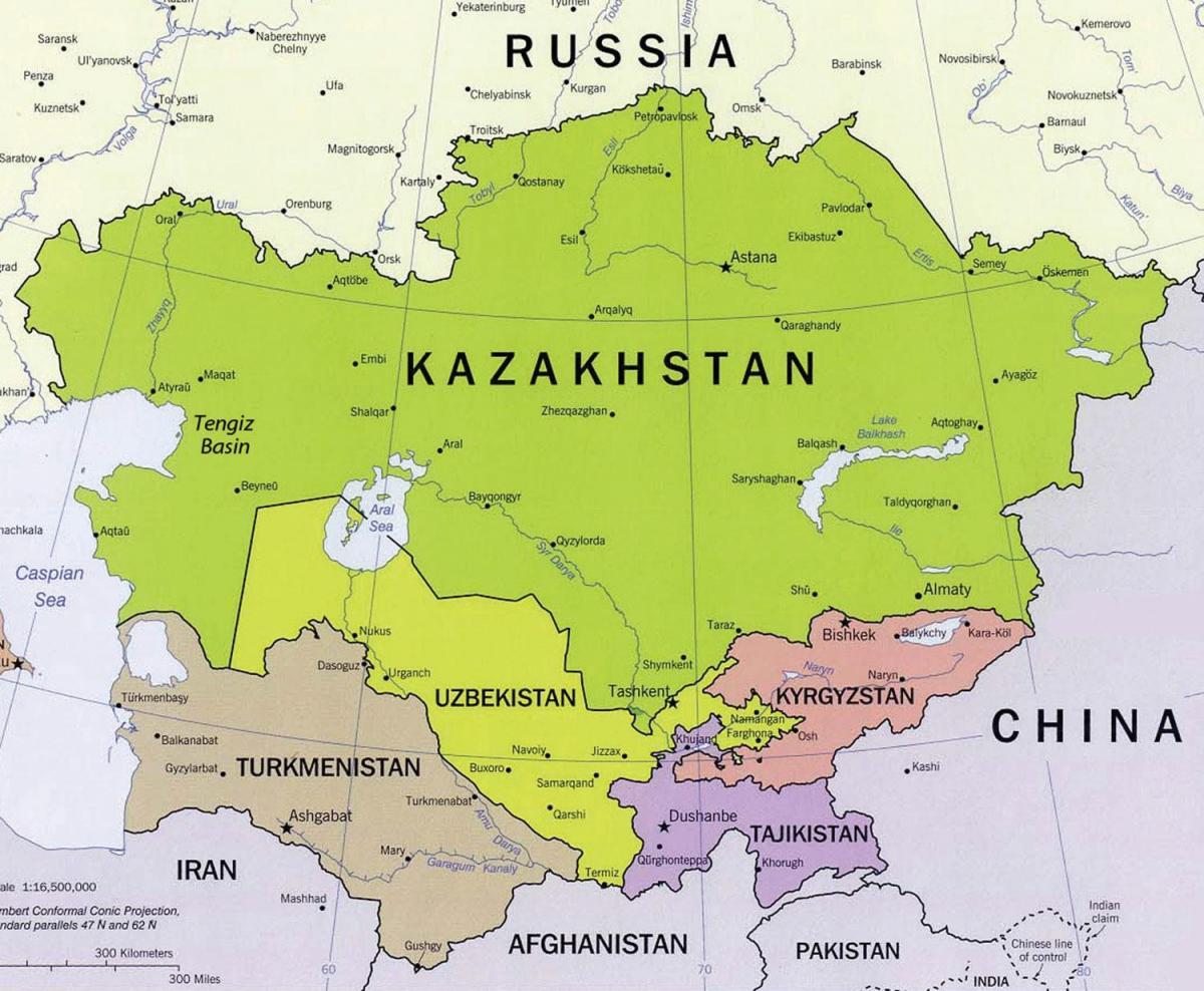 Terrorismus in Zentralasien auf dem Vormarsch